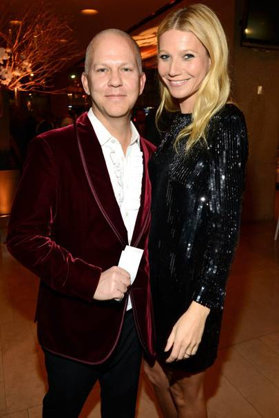 Ryan Murphy and Gwyneth Paltrow