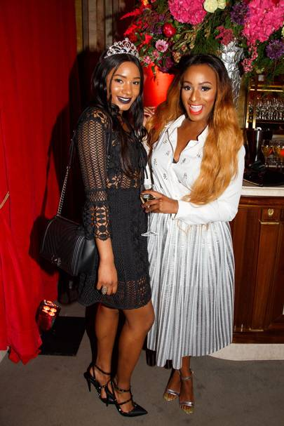 Temi Otedola and DJ Cuppy