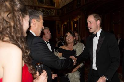 Mario Testino, Alexandra Shulman and The Duke of Cambridge