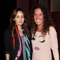 Natalie Imbruglia and Tara Smith