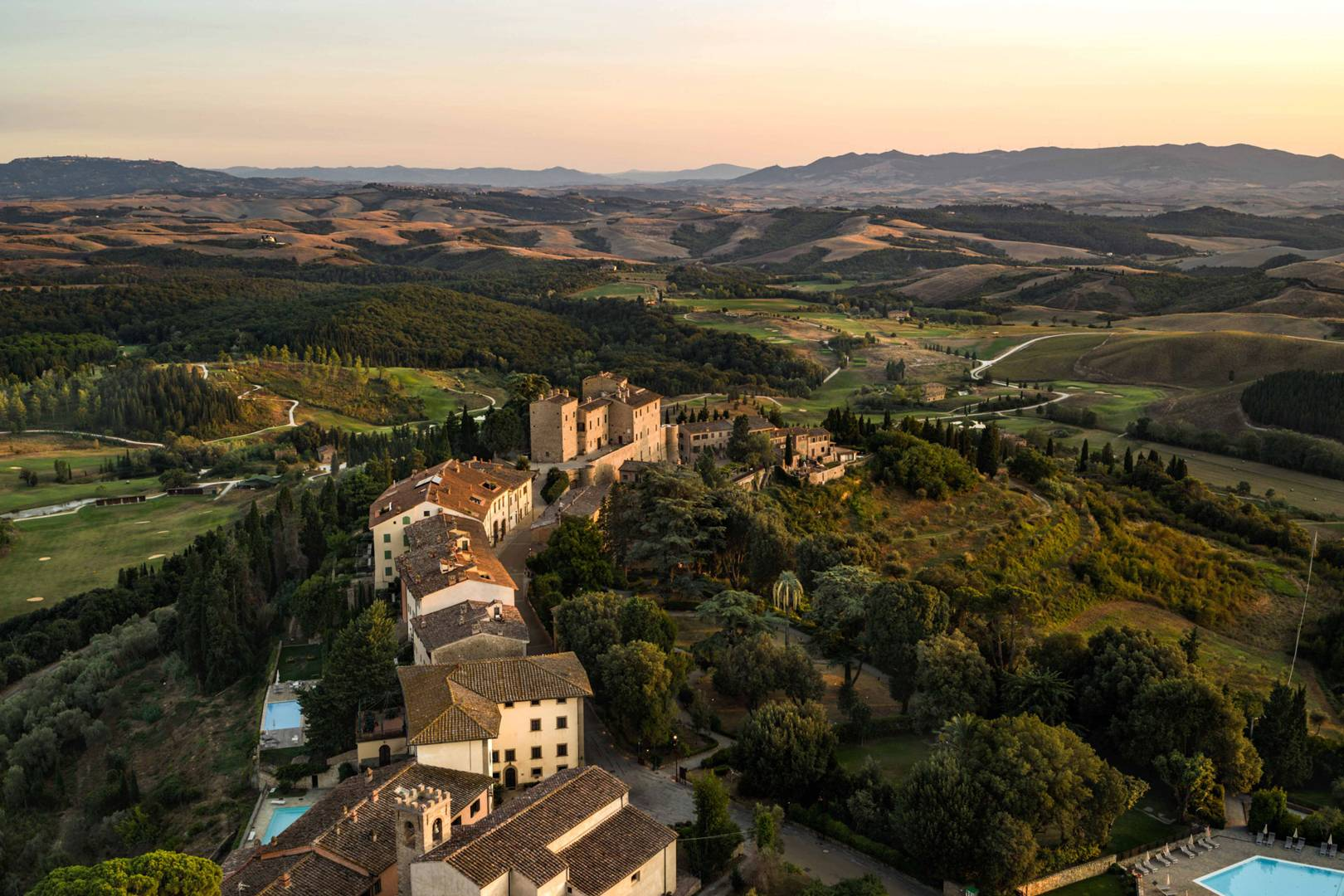Is this castle the most glamorous hotel in Tuscany?