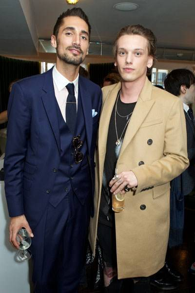 Hugo Taylor and Jamie Campbell Bower