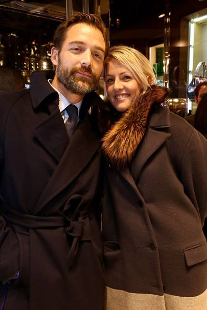 Patrick Grant and Laura Weir