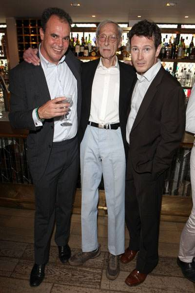 Jake Arnott, Bruce Reynolds and Nick Moran