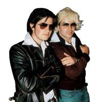Jack Freud and Johnny Caddick