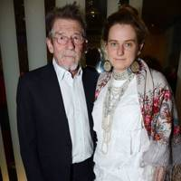 John Hurt and Svetlana K-Lie