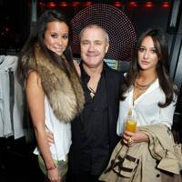 Stephanie Smart, Damien Hirst and Roxie Nafousi
