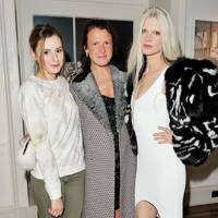 Laura Carmichael, Katie Grand and Kristen McMenamy