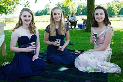 Emilia Barclay, Polly Lightbody and Sophie Johnstone