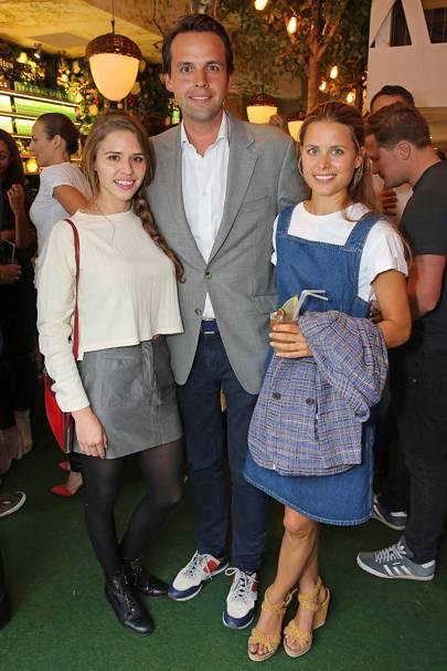 Alessandra Balazs, Charlie Gilkes and Irene Forte