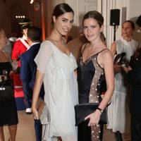 Amber Le Bon and Katie Readman