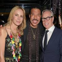 Dee Hilfiger, Lionel Richie and Tommy Hilfiger
