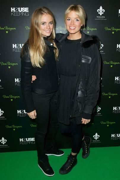 Cressida Bonas and Isabella Branson