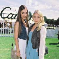 Amber Le Bon and Tali Carling