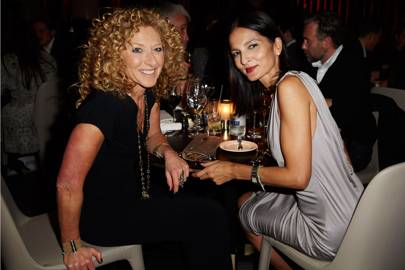 Kelly Hoppen and Yasmin Mills