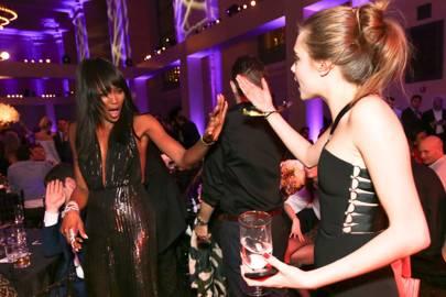 Naomi Campbell and Cara Delevingne