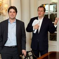 Rudi Kainz and Tom Parker Bowles