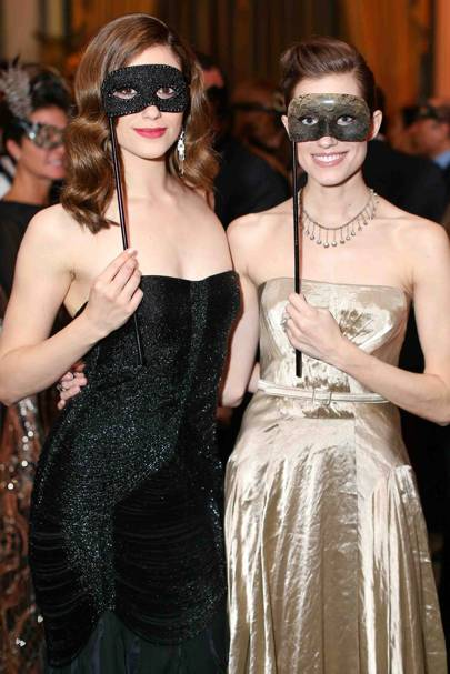 Emmy Rossum and Allison Williams