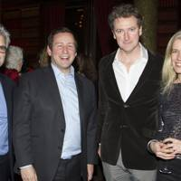 Matthew Byam-Shaw, Ed Vaizey, Risteard Cooper and Suzanne Cooper