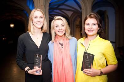 Emma Garner, Anne Davies and Charlotte Yates