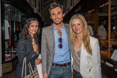 Natasha Kundi, Mark Francis and Joanne Glasbey