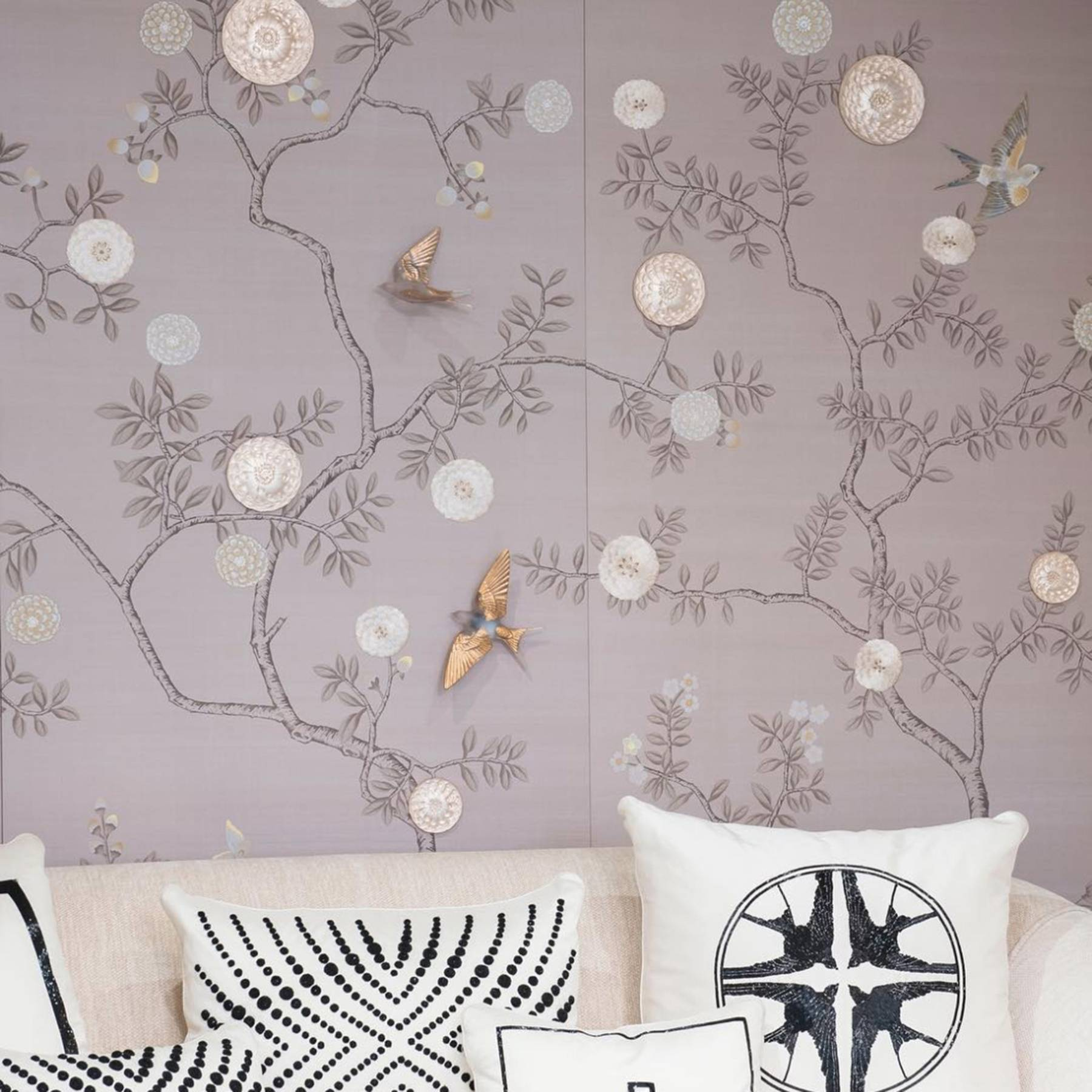 Lalique Fromental Wallpaper Collaboration Tatler
