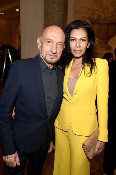 Sir Ben Kingsley and Daniela Lavender