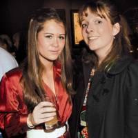Alexandra Bowes-Lyon and the Hon Martha Beaumont