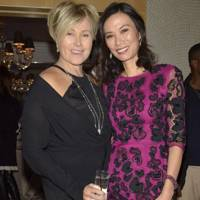 Deborra-Lee Jackman and Wendi Deng