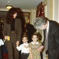 Mrs Tony Hambro, Eric Hambro, Maya Hambro and Tony Hambro