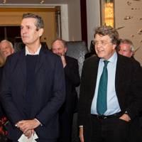 Rupert Everett and Merlin Holland