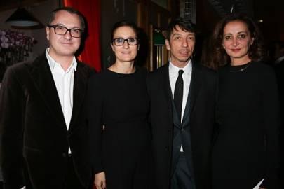 Luca Dini, Maria Grazia Chiuri, Pierpaolo Piccioli and Sasha Gambaccini