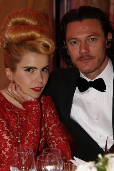 Paloma Faith and Luke Evans