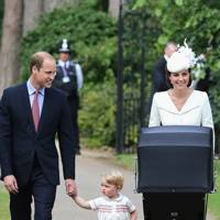 The Duke of Cambridge, Prince George, The Duchess of Cambridge and Princess Charlotte
