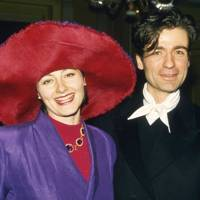 Mrs Nicholas Coleridge and Ulrich Engler