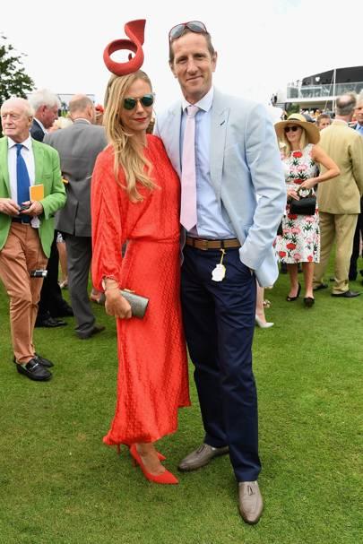 Caroline Greenwood and Will Greenwood