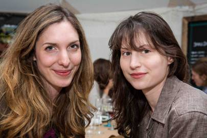 Catriona Gray and Karina Jacobs