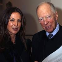 Susanne Kapoor and Lord Rothschild