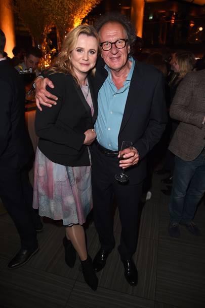 Emily Watson and Geoffrey Rush