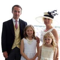 Walter Swinburn, Claudia Swinburn, Camilla Swinburn and Alison Swinburn