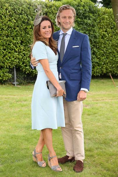 Natalie Pinkham and Owain Walbyoff