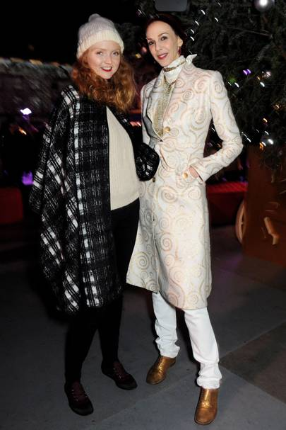 Lily Cole and L'Wren Scott