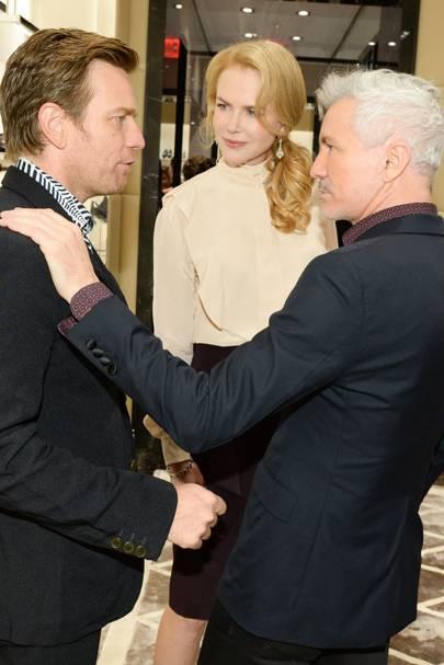 Ewan McGregor, Nicole Kidman and Baz Luhrmann