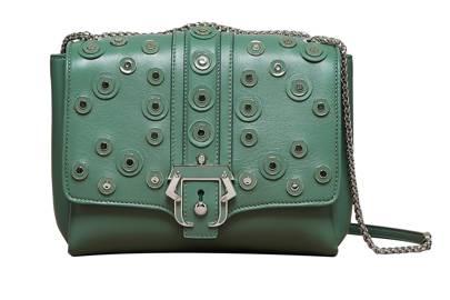 Leather bag, £957, by Paula Cademartori