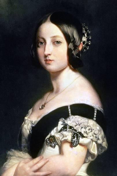 Sapphire Coronet Queen Victoria