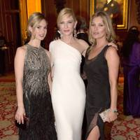 Lily James, Cate Blanchett and Kate Moss