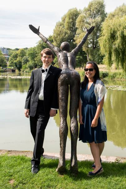 Julian Trevelyan and Lily Bowker-Wright