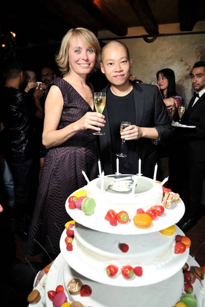 Axelle de Buffevent and Jason Wu