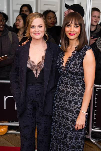 Amy Poehler and Rashida Jones