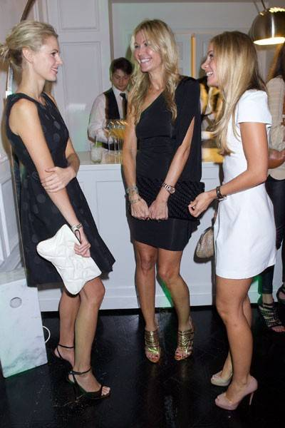 Donna Air, Melissa Odabash and Lucinda Edwards